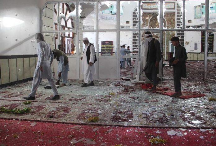 Afghanistan: 70 morts dans l'attaque d'une mosquée (détail)