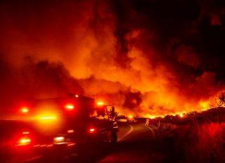 Des Incendies dans une région viticole près de San Francisco