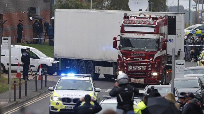 Les 39 Morts retrouvés dans un camion au Royaume-Uni étaient Chinois
