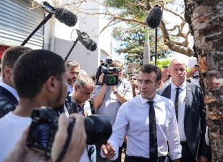 """Les deux tiers des Français """"mécontents"""" de l'action de Macron (détail)"""