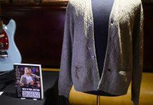 Un gilet en laine de Kurt Cobain aux enchères (Photo)