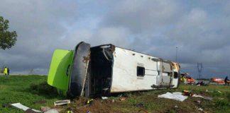 Accident sur l'A1 : Un bus fait 33 blessés dans la Somme