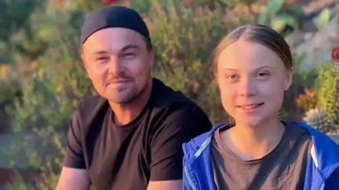 Climat : Leonardo DiCaprio et Greta Thunberg, la rencontre