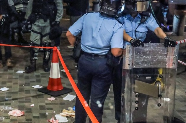 Hong Kong : Une attaque au couteau fait 5 blessés (détail)