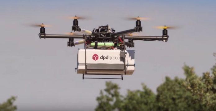 La Poste démarre un deuxième test de livraison par drone (détail)