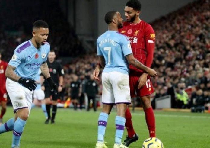 Raheem Sterling (Manchester City) écarté après un incident avec Gomez