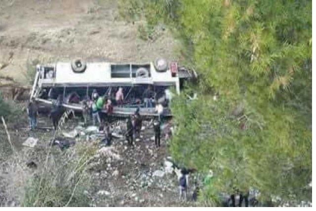 Accident de bus en Tunisie : Le bilan s'alourdit à 26 morts