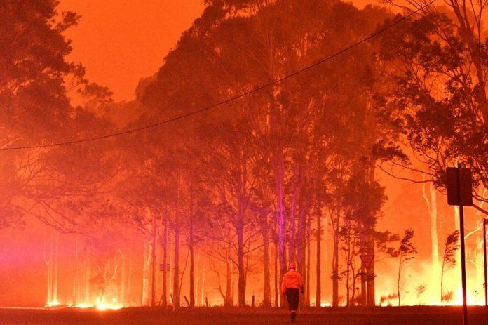 Incendies en Australie: Des milliers de touristes pris au piège