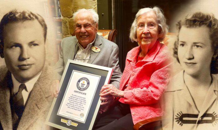 Le plus vieux couple du monde fête ses 80 ans de mariage (détail)