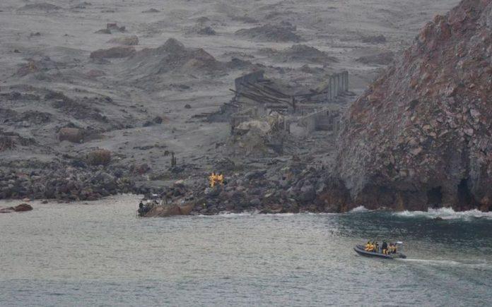 Volcan en Nouvelle-Zélande: Les recherches ont été suspendues