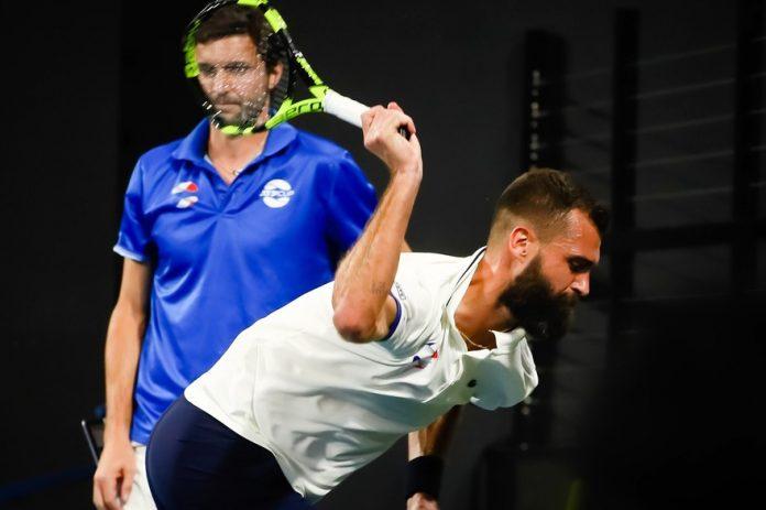 ATP Cup : Benoît Paire craque de nouveau, casse une raquette