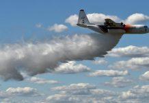 Australie : crash d'un bombardier d'eau (détail)