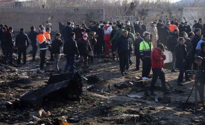 Crash du Boeing en Iran: « un incendie » à bord (détail)
