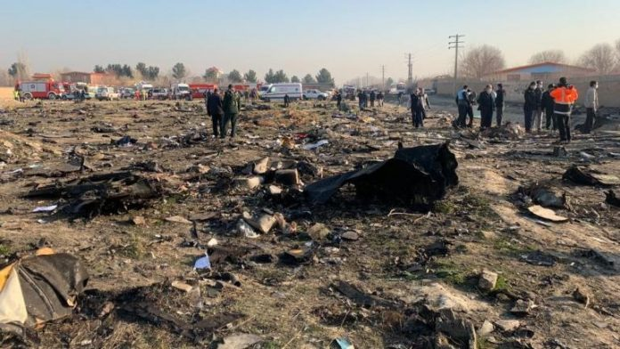 Crash d'un Boeing 737 à Téhéran avec 176 personnes à son bord