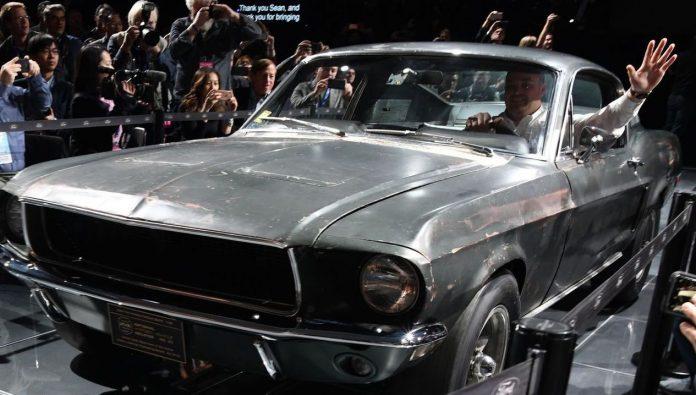 Ford Mustang, vente record pour la voiture de Steve McQueen (détail)