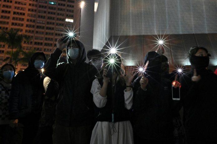 Hong Kong : Une grande manifestation pour le Nouvel An