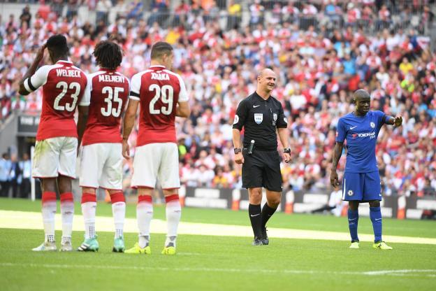 Un arbitre viré de la Premier League (détail)