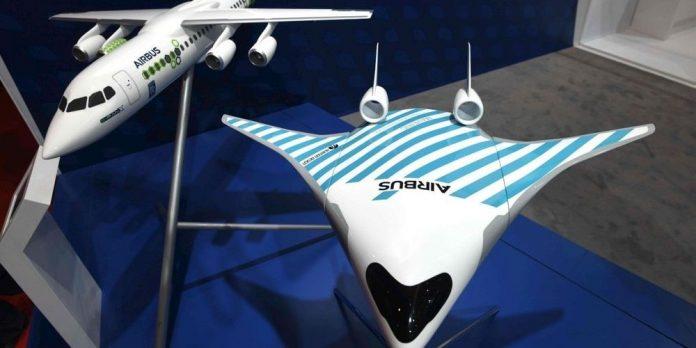 Airbus dévoile son avion du futur (Photo)