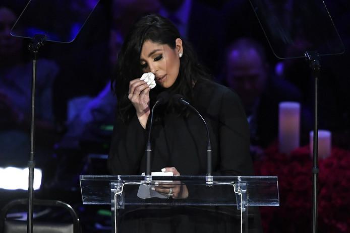 Kobe Bryant: Le discours extrêmement poignant de Vanessa Bryant