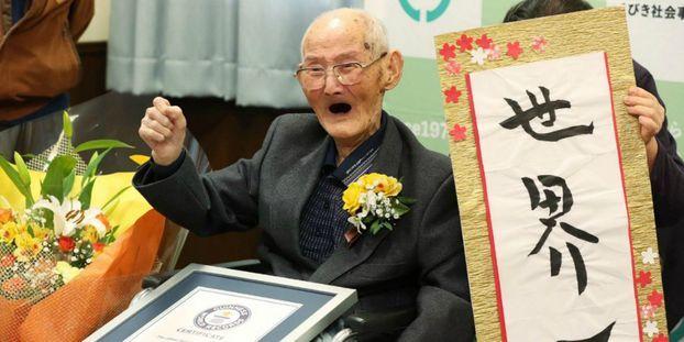 Le doyen de l'humanité est un Japonais âgé de 112 ans