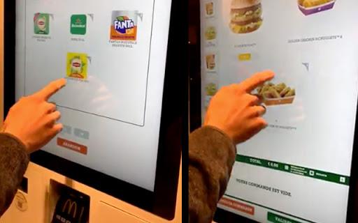 McDonald's : Un bug permettait de commander des menus gratuitement