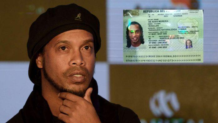 Ronaldinho arrêté en possession d'un faux passeport (détail)
