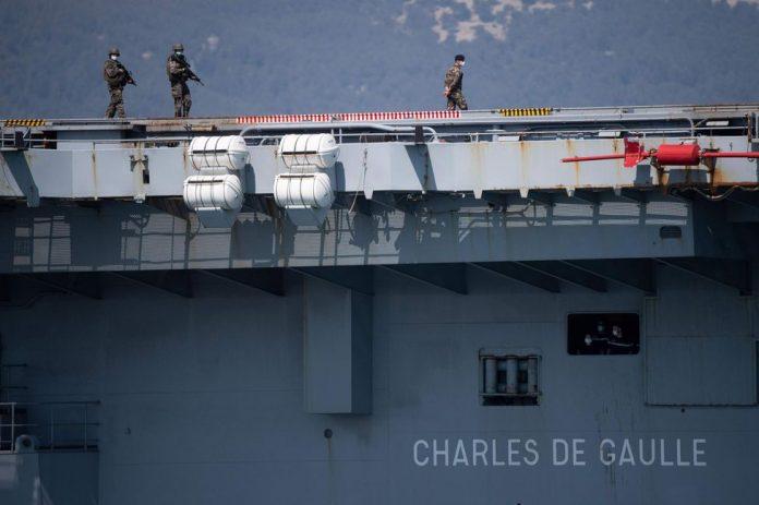 Coronavirus en France : 120 marins du porte-avions Charles de Gaulle déclarés guéris