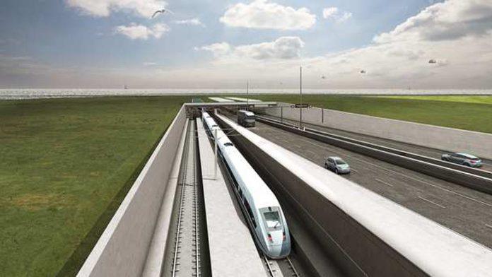Le plus long tunnel immergé au monde entre Danemark et Allemagne