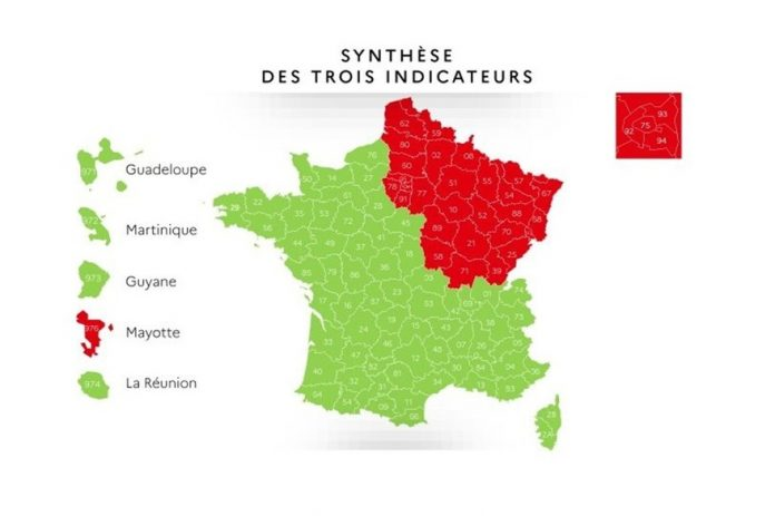 Coronavirus France EN DIRECT - Carte de déconfinement : quels départements sont encore en rouge ?