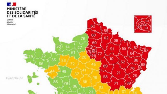 Coronavirus France EN DIRECT : Carte des départements du 3 mai 2020