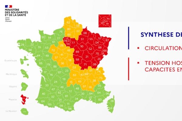 Coronavirus France EN DIRECT : Carte du déconfinement, cinq départements passent en orange