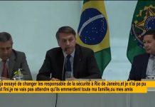 Jair Bolsonaro dérape violemment dans une vidéo diffusée par la justice (détail)