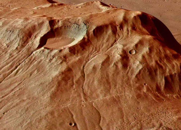 La boue se comporte comme de la lave sur Mars