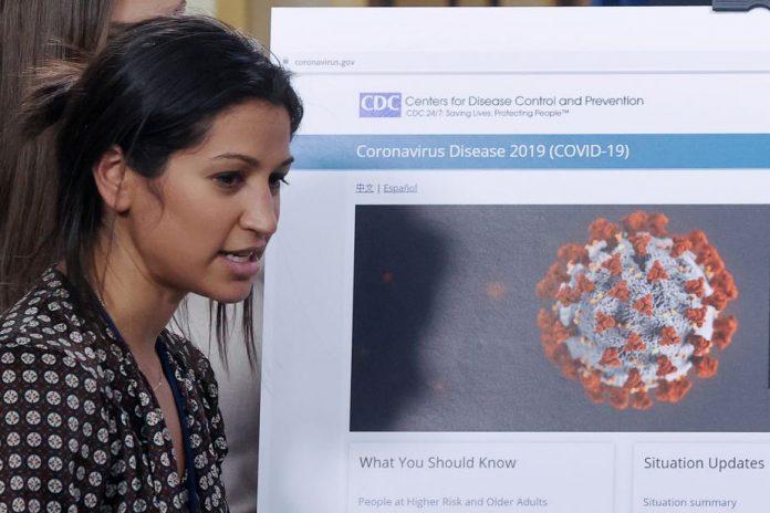 La porte-parole de Mike Pence testée positive au coronavirus (détail)