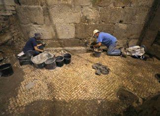 Pièces souterraines découvertes près du Mur des Lamentations (Photo)