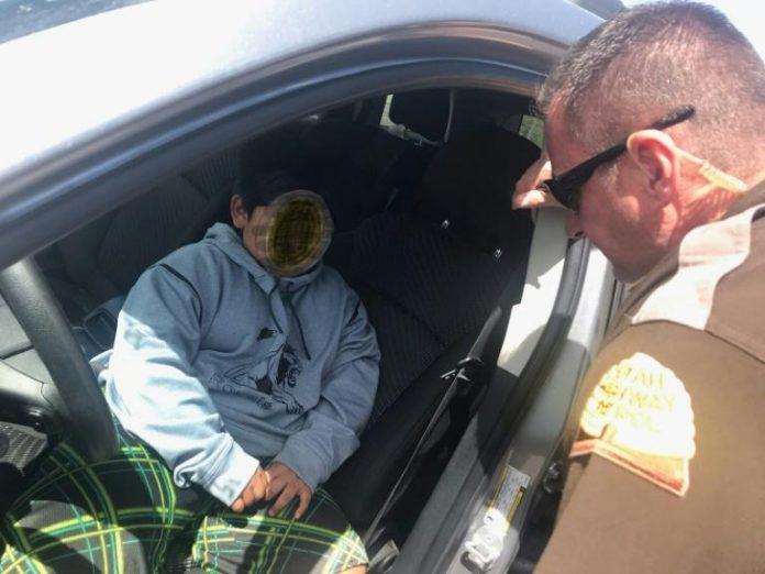 Un garçon de 5 ans arrêté au volant alors qu'il allait acheter une Lamborghini (Photo)