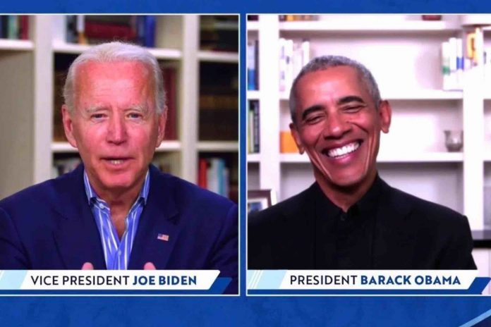 Barack Obama lève des fonds avec Joe Biden (détail)