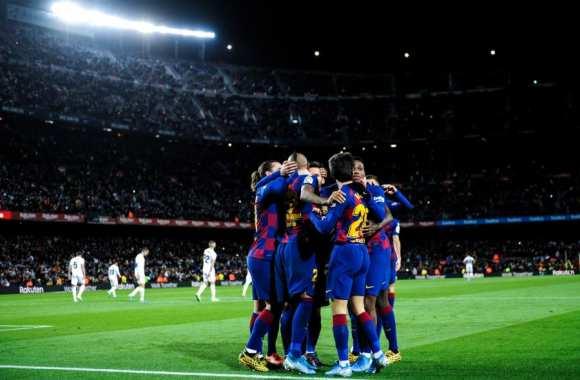 Covid-19: 5 joueurs du fc Barcelone testés positifs