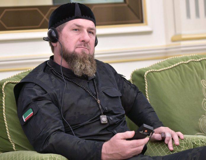 Kadyrov apporte son soutien aux Tchétchènes de Dijon (détail)