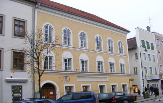 La maison natale d'Adolf Hitler transformée en poste de police