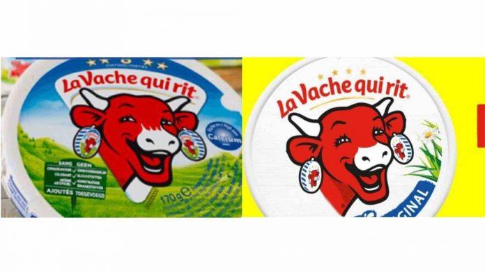 La Vache qui rit se modernise avec un nouveau logo (Image)