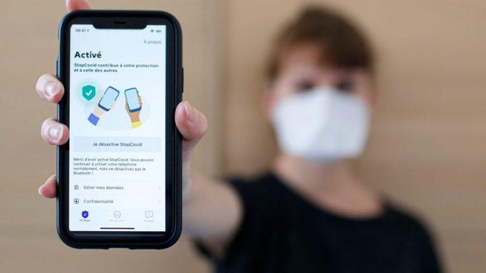 Lancement de l'application StopCovid en France (détail)