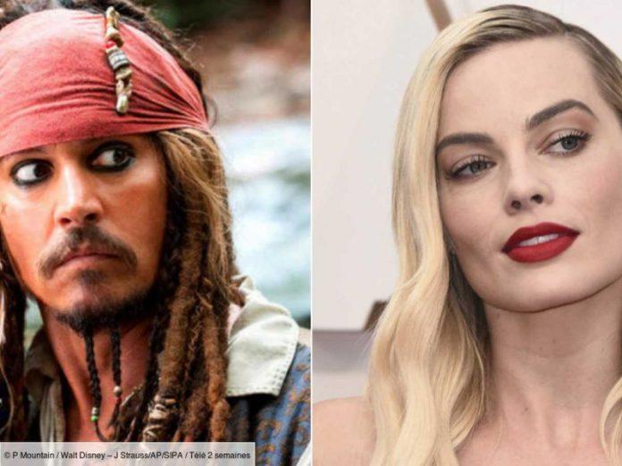 Margot Robbie, star d'un nouveau film Pirates Des Caraïbes (détail)