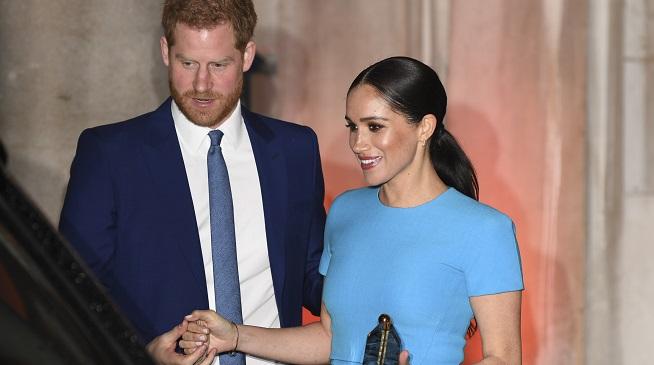 Meghan Markle et le prince Harry signent leur premier contrat (détail)