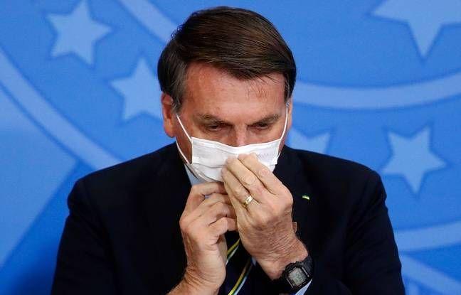 Coronavirus : Nouveau test de dépistage pour Bolsonaro