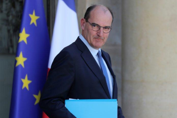 Jean Castex face à l'Assemblée nationale (détail)