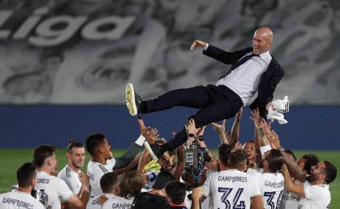 Perez a rendu un bel hommage à Zidane (détail)