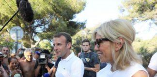 Emmanuel Macron : avec Brigitte, il s'offre une soirée pizza (détail)