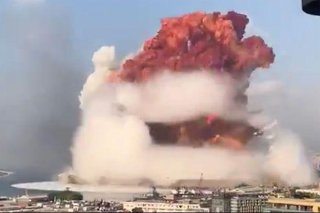 Explosion à beyrouth : Macron annonce l'envoi « des secours et moyens français »