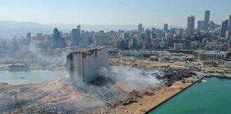Explosions à Beyrouth. Lourds soupçons de négligence (détail)